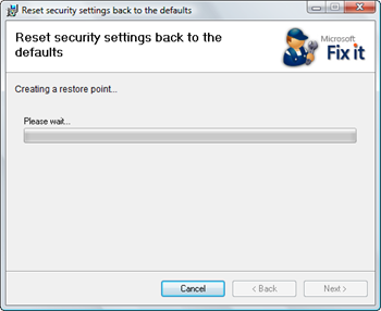 Microsoft FixIt