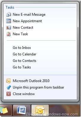 Office 2010 Optimierungen für Windows 7