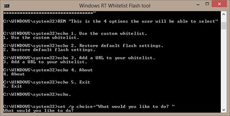 Flash Whitelist