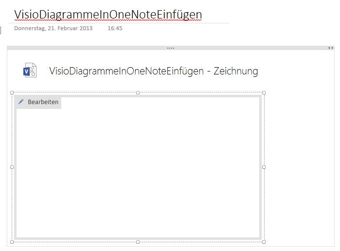 Visio-Diagramme in OneNote 2013 einfügen - winforpro.com