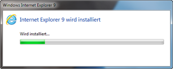IE9 RC Installation