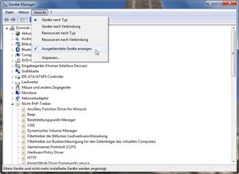 Nicht PnP-Treiber im Gerätemanager