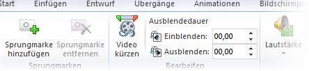 Videobearbeitung